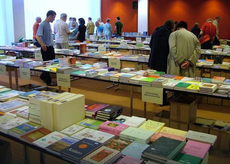 Knjige na esperantu na sajmu knjiga u Roterdamu 2008.