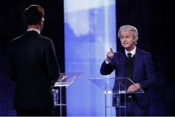 Mark Rute i Gert Vilders EPA Bart Maat