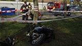 Śmierć motocyklisty na Retkini w Łodzi