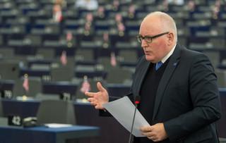 Saryusz-Wolski krytykuje w liście wiceszefa KE Fransa Timmermansa