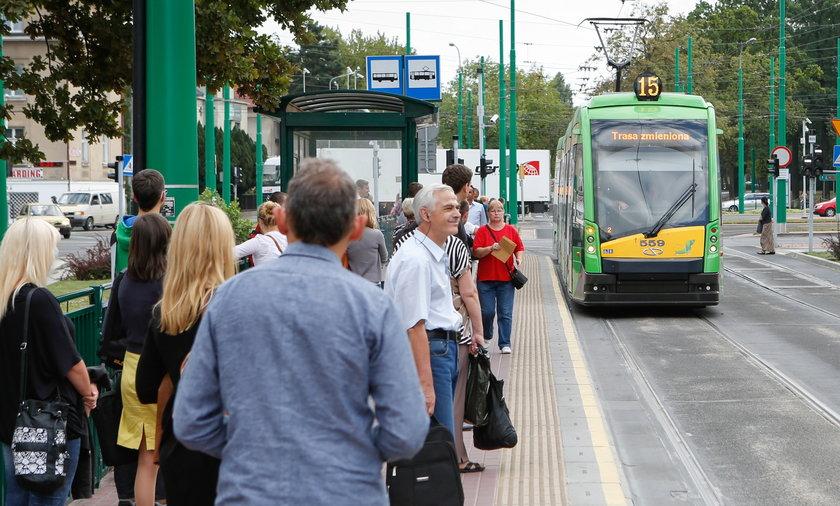 Na Junikowo pojada tylko dwie linie tramwajowe.