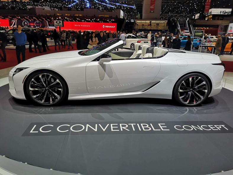Lexus LC500 Genewa