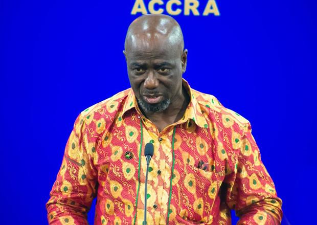 Director of Diaspora Affairs, Akwasi Awuah Ababio.