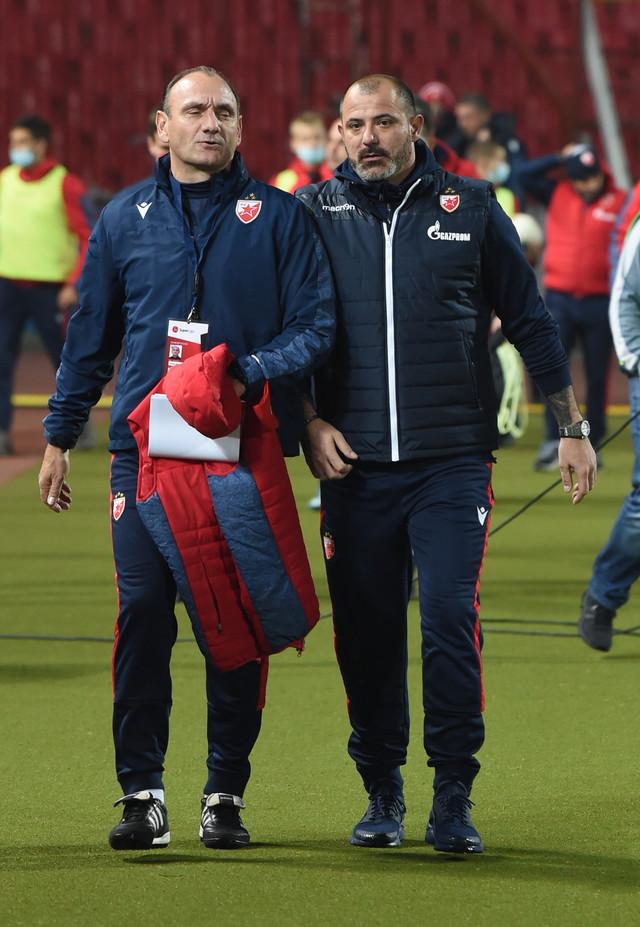Dejan Stanković na meču Crvena zvezda - Javor