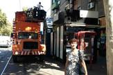 Zastoj tramvaja na Dorćolu