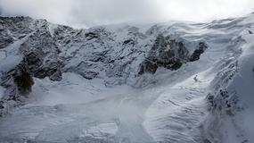 W Szwajcarii oderwał się kawałek lodowca Trift
