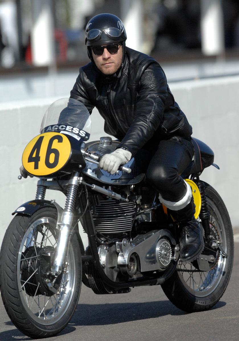 Znani jeżdżą na motorze