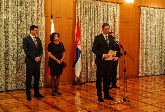 Aleksandar Vučić i Irina Čurkin