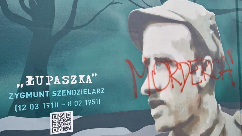 Policja wciąż nie wykryła sprawców, którzy zniszczyli mural w Gdańsku