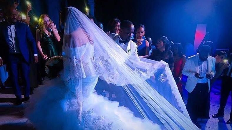 Official photos from Layal Holm and Seyi Tinubu's wedding in Como Lake, Italy