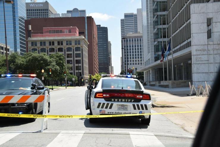 SAD policija dalas teksas