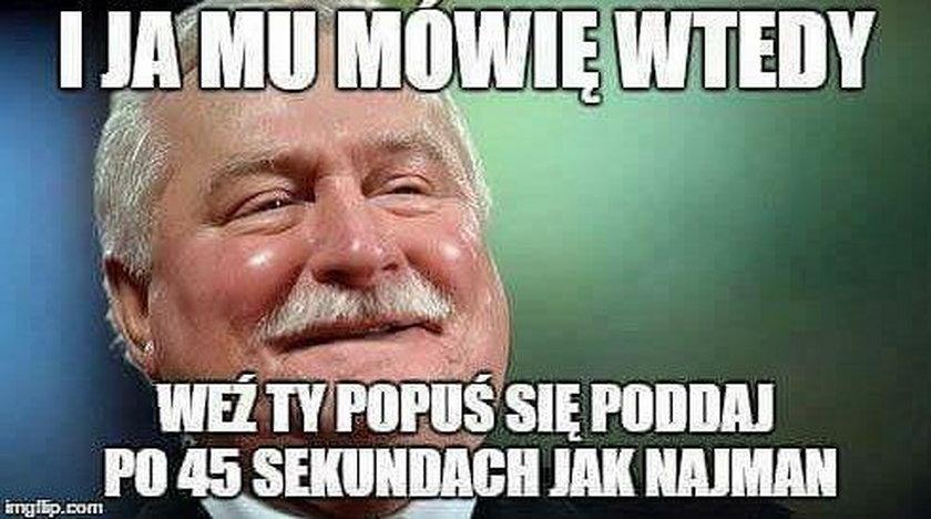 Nowy król Albanii. Memy po walce Pudzian - Popek