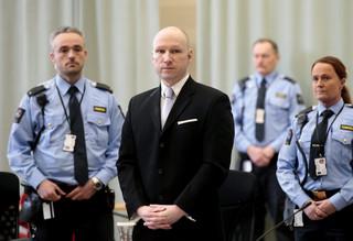 Norwegia: Izolacja Breivika w więzieniu jest nieludzkim traktowaniem