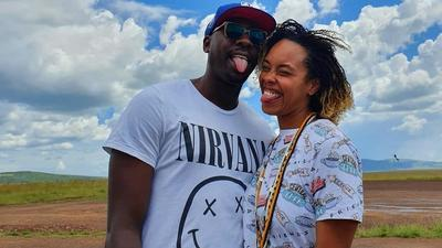 Sauti Sol's Bien and wife show off Unique wedding rings months after wedding (Photos)