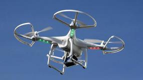 Dron zderzył się z samolotem pasażerskim