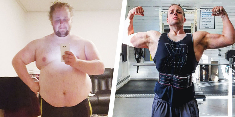 Small Changes Helped This Guy Lose 180 Pounds