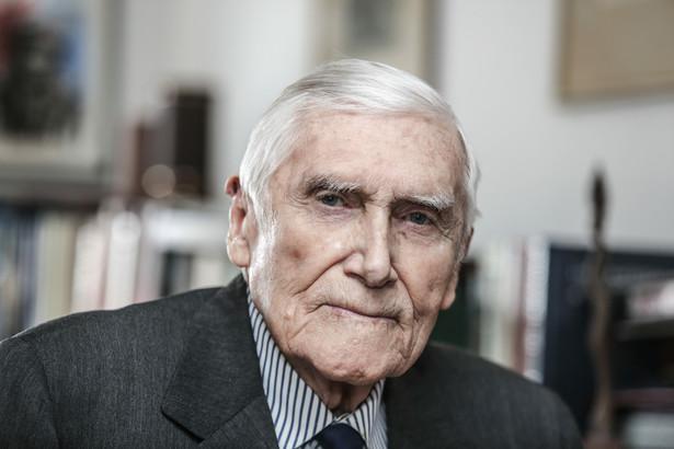 Witold Kieżun zmarł w wieku 99 lat