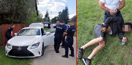 20-latek staranował policjantkę, został postrzelony w czasie obławy