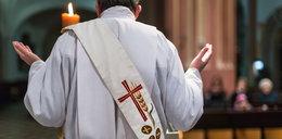 Senior zasłabł podczas mszy i zmarł. Ksiądz kontynuował odprawiane nabożeństwo