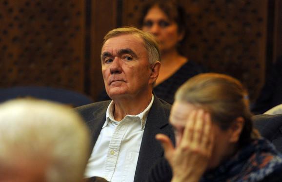 Duško Kovačević na komemorativnom skupu posvećenom Vladeti Jerotiću
