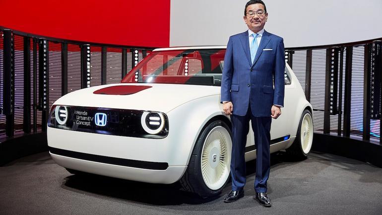 Honda Urban EV Concept: