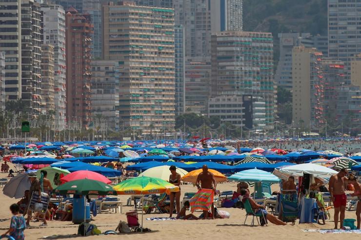 Plaža u Benidormu, Španija