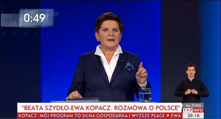 Dziś debata wyborcza: Ewa Kopacz - Beata Szydło