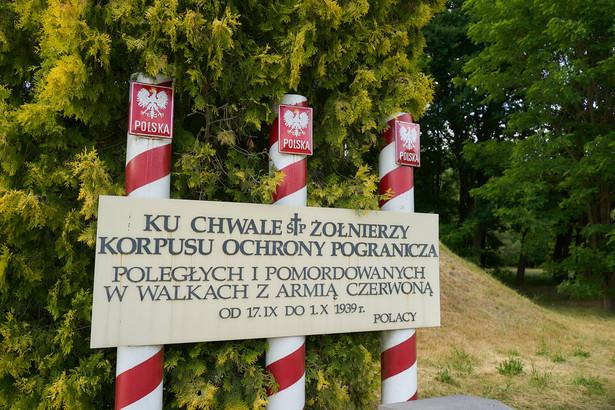 Cmentarz żołnierzy Korpusu Ochrony Pogranicza, którzy polegli w bitwie pod Wytycznem