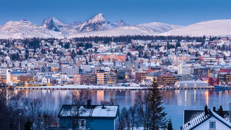 Tromso, Norwegia