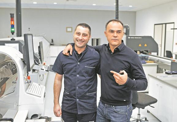 Nebojša Matić (desno): Volim sve svoje radnike