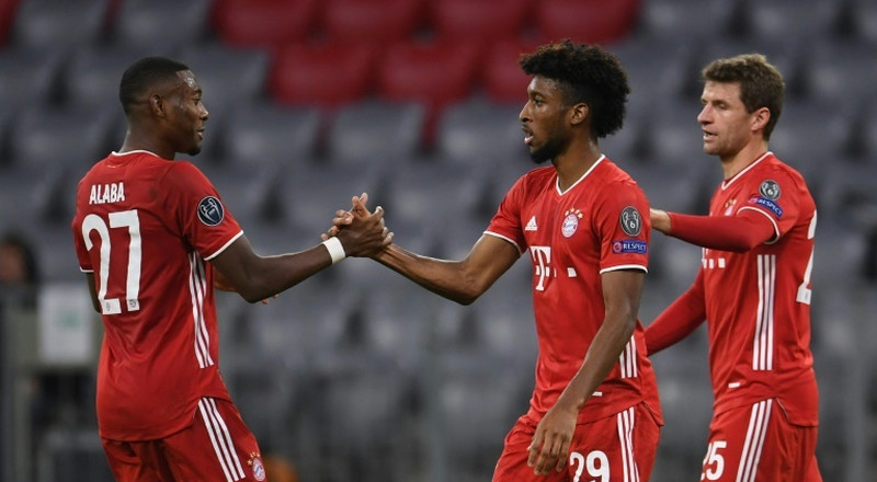 Coman strikes again as Bayern open title defence by routing Atletico