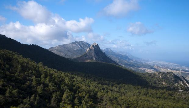 Góry na północy Cypru