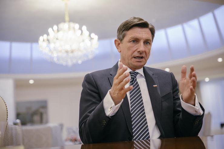 Borut Pahor, predsednik Slovenije