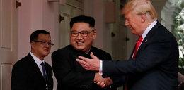 Trump pokazał Kimowi krótki film. To miało zrobić wrażenie