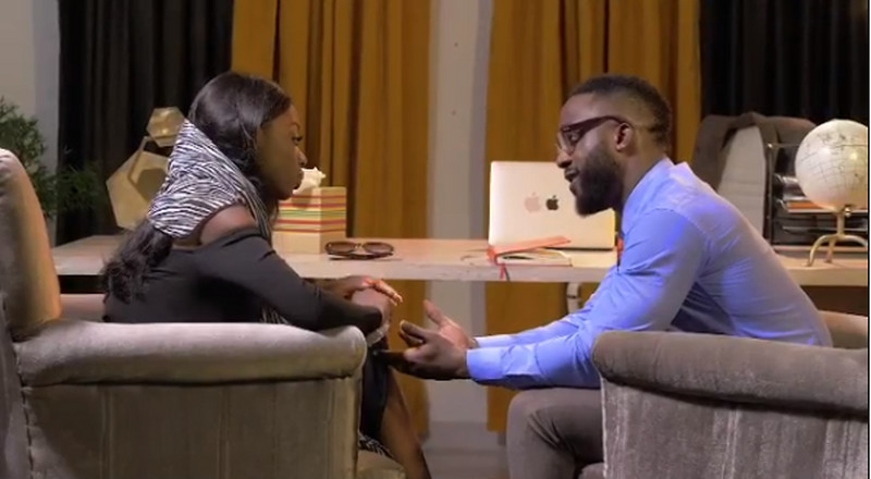 BBNaija's Diane features Iyanya in Nollywood debut, 'The Therapist'