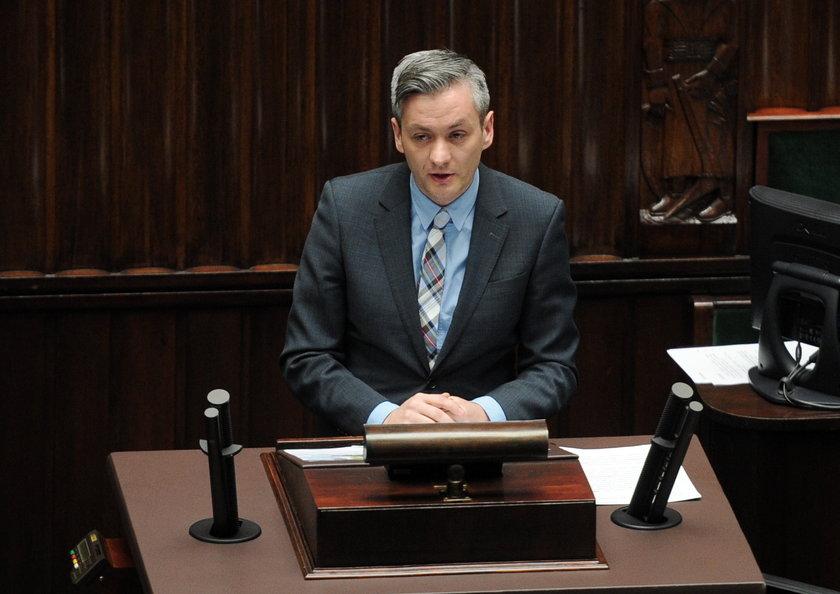 Robert Biedroń, prezydent Słupska i były posełTwojego Ruchu