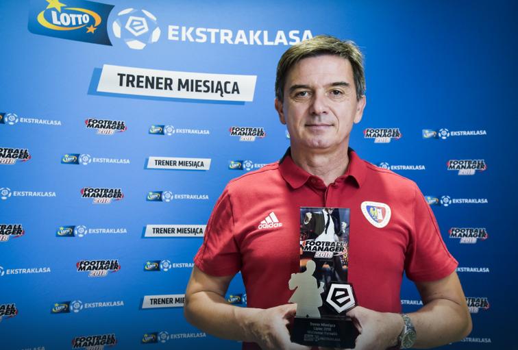 Waldemar Fornalik trenerem lipca w LOTTO Ekstraklasie