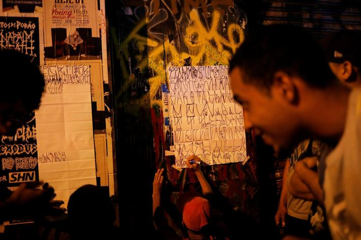 The Wider Image: Sao Paulo mayor declares war on wall writers