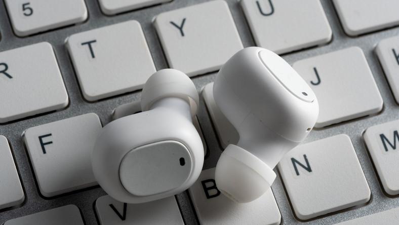 Słuchawki dokanałowe bezprzewodowe
