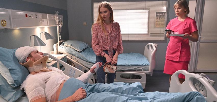 """""""Barwy szczęścia"""" odcinek 2453. Sebastian wyjawi Dominice prawdę  o wypadku!"""