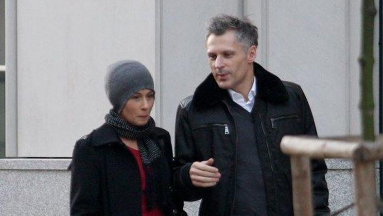 Jolanta Fraszyńska i Robert Kozyra