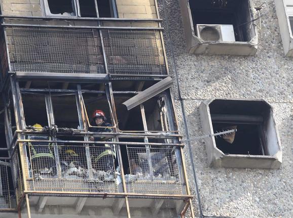 Požar je izbio oko četiri ujutru