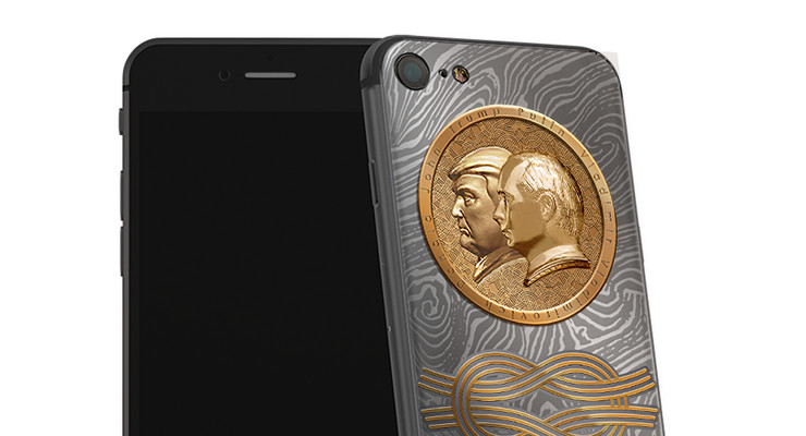 Zlatni ajfon, Vladimir Putin, Donald Tramp