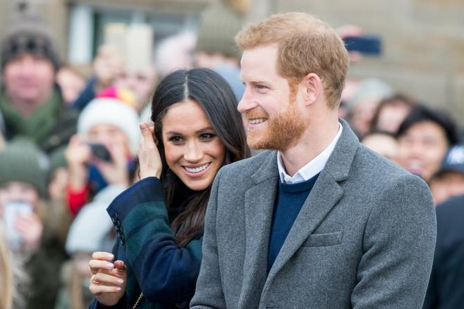 Princ Hari sa suprugom Megan Markl