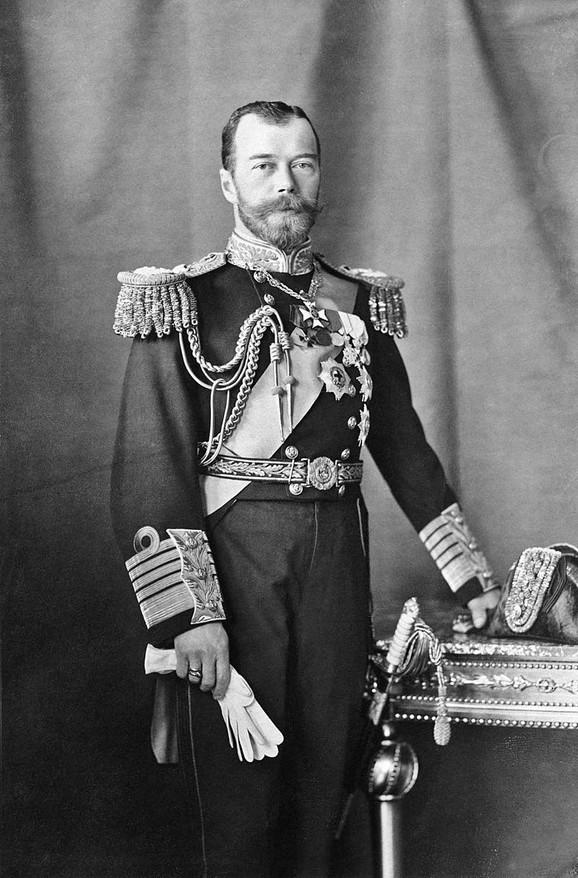 Ruski car Nikolaj Drugi
