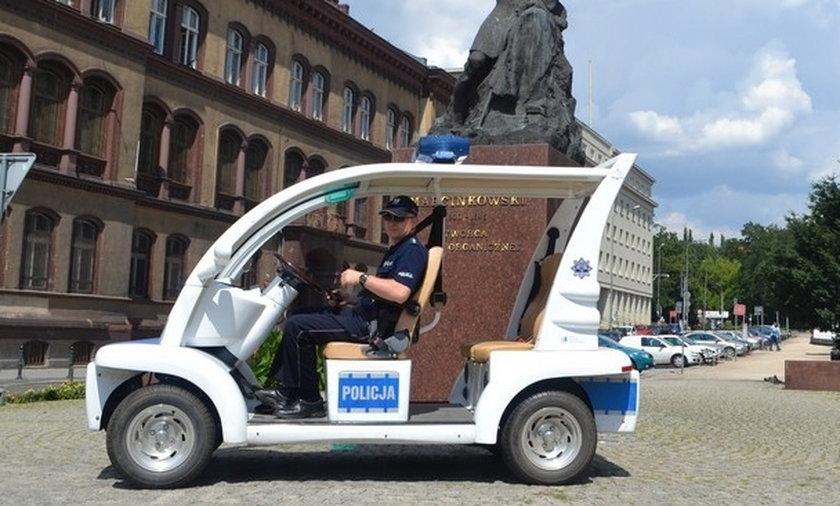 Policja będzie jeździła meleksem