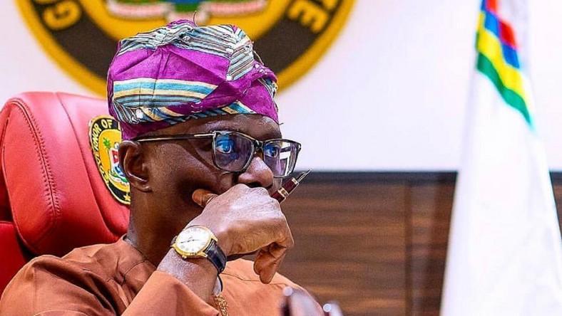 Lagos state Governor, Babajide Sanwo-Olu. [Twitter/@jidesanwoolu]