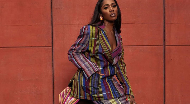 A look at what Tiwa Savage wore in her New York Times feature