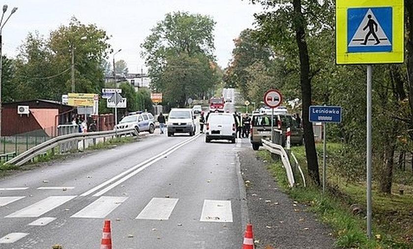 Kierująca potrąciła dwóch chłopców w miejscowości Kozy Gaje