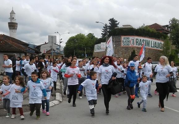 Žitelji Pazara se priključili trci